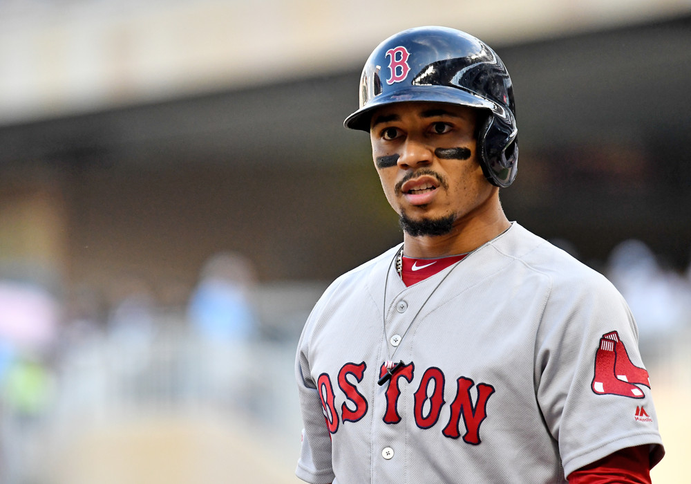 mookie betts dodgers deep going sox something parents hammonds brianna champs easier east got al road age angeles los july