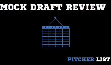 Pitcher List Mock Draft: Ben Palmer's Picks